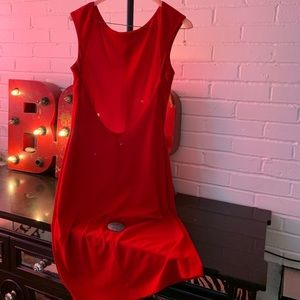 Laundry red dress